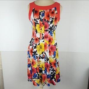Ladies Small Multicolor Perceptions New York Dress